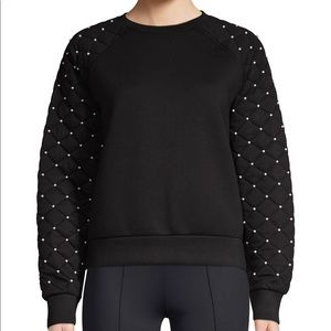 Maje Sweatshirt with pearls, size 1